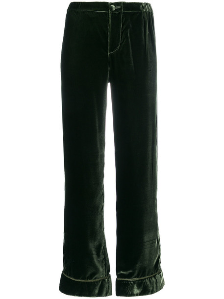 F.R.S For Restless Sleepers women green pants