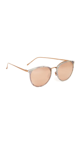 rose gold rose sunglasses mirrored sunglasses gold marble