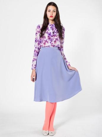 b3a42bc33 American Apparel - Mid-Length Circle Skirt