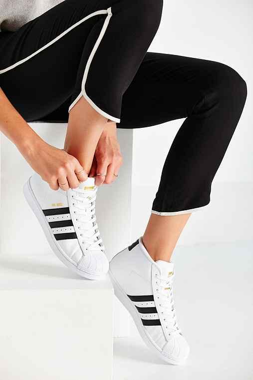 Adidas Superstar High Top Womens