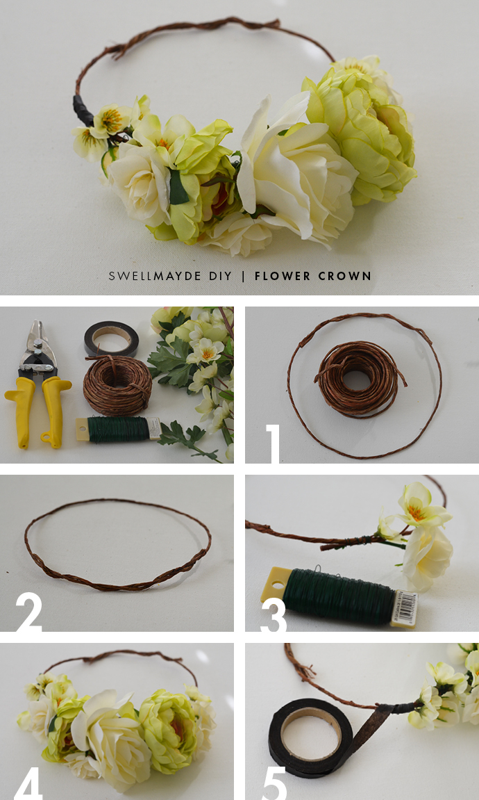 Diy Flower Crown Tumblr