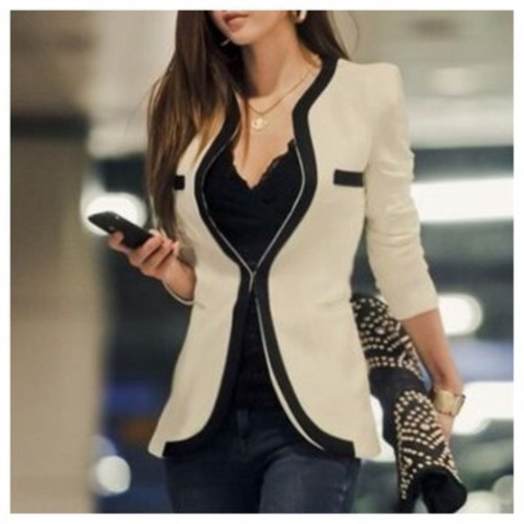 v-neck white jacket blazer celebrity style celebrity style steal
