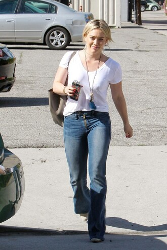 jeans hilary duff streetstyle spring outfits