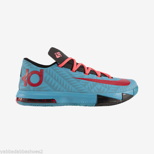 Nike N7 KD VI 6 Kevin Durant 2013 Limited 626368 466 Turquoise Red Black Sz 9 5 | eBay