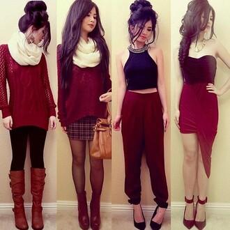 t-shirt skirt shoes dress