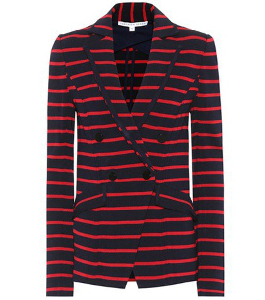 Veronica Beard jacket striped jacket