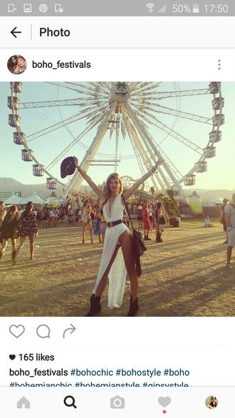dress coachella festival boho beach dress