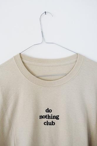 shirt t-shirt nude top