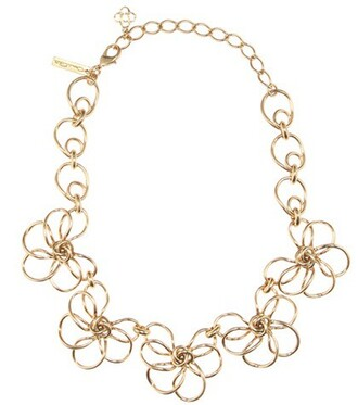 metal necklace gold jewels