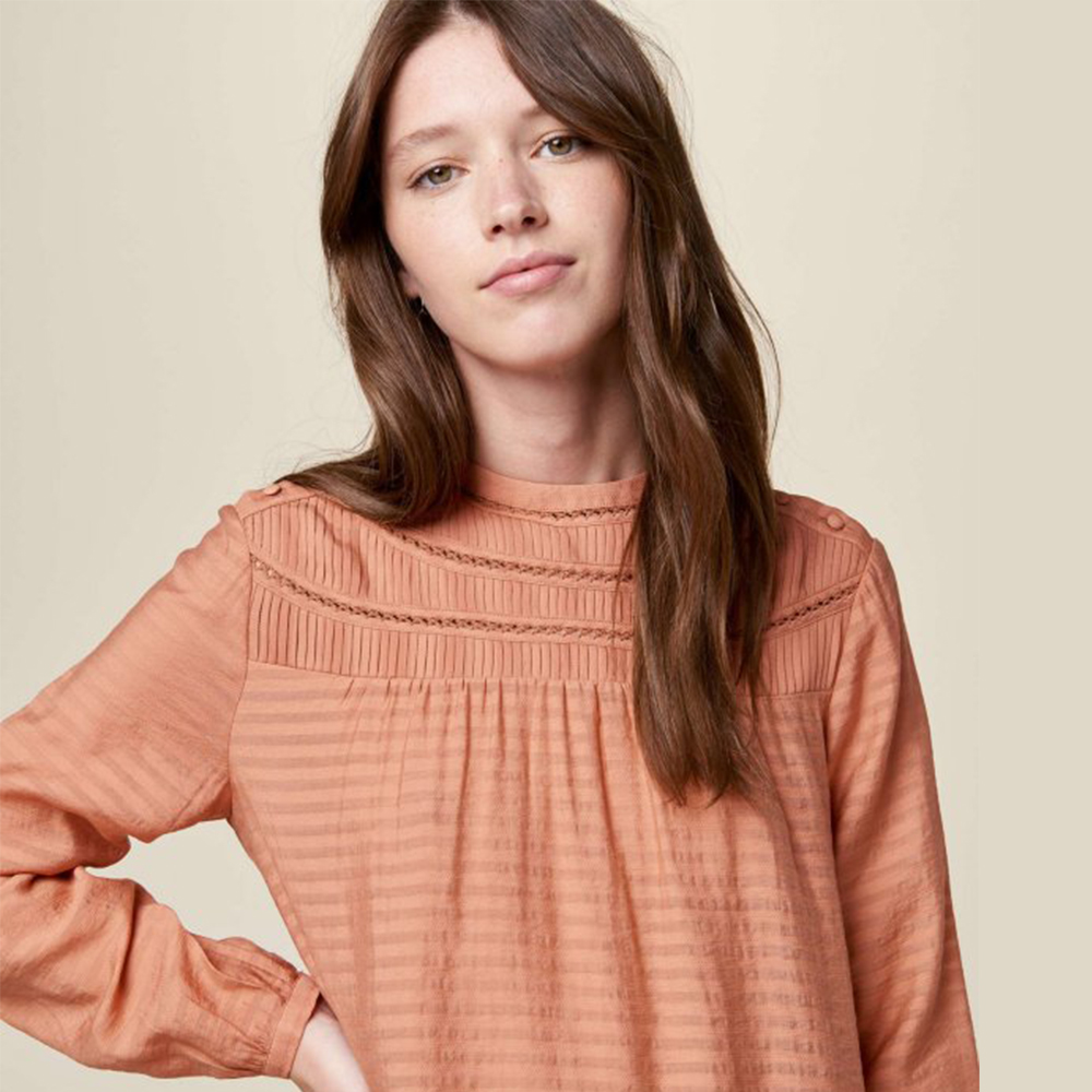 Blouse Miss Bloom - Cameo Rose