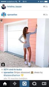 white dress,stripes,striped skirt,striped dress,dress,instagram