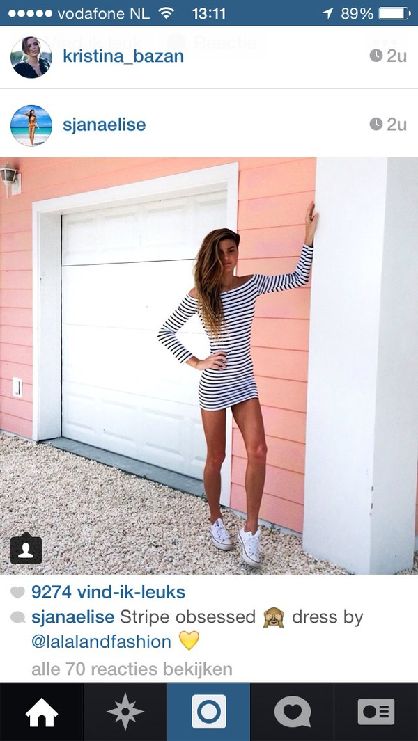 white dress stripes striped skirt striped dress dress instagram