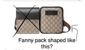 bag,fanny,waist,waist bag,belt,belt bag,gucci,fanny pack