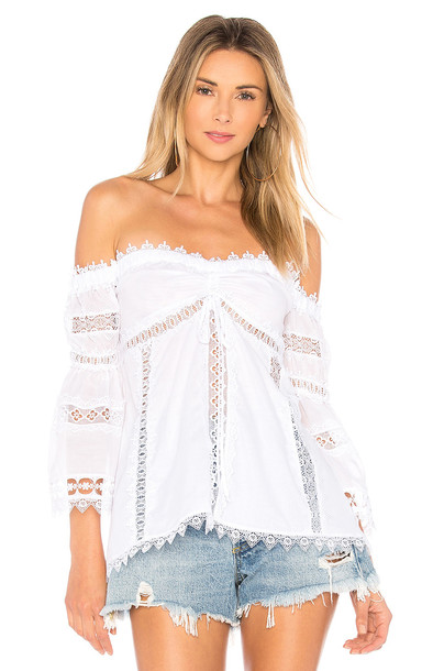 Charo Ruiz Ibiza blouse white top