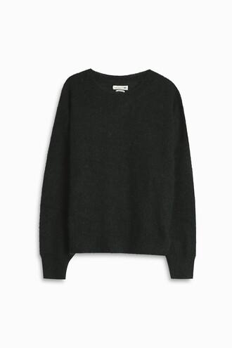 sweater mohair green