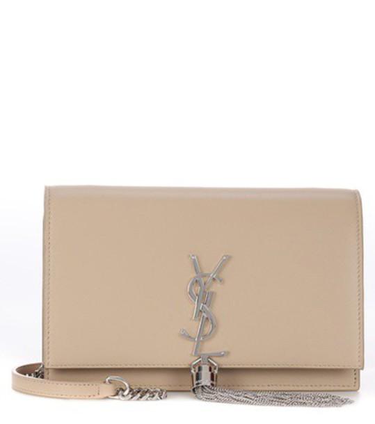 Saint Laurent classic bag shoulder bag leather beige