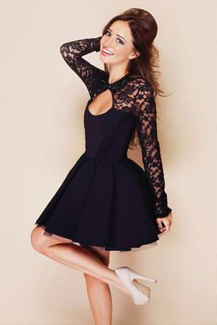 Vestry Online | Tempest Daydream Dress in Black