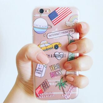phone cover yeah bunny usa clear iphone cover iphone case iphone american flag