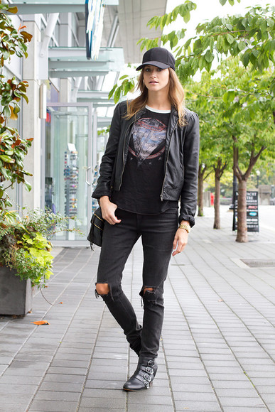 styling my life blogger top jewels bag jacket jeans black jeans