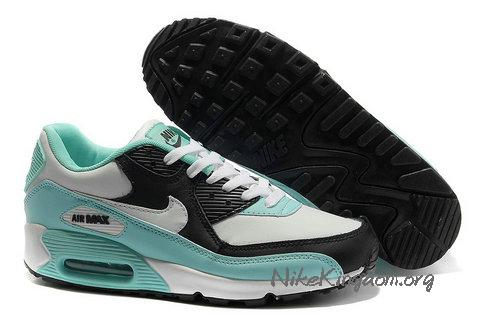 Nike Air Max 90 White Bright Turquoise Imperial Purple 325213 300 - $76.96 : Nike Kingdom, Discount Nike Air Max Shoes, Discount Air Force,Jordan Shoes Sale