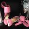 Bow pump - pink   aminah abdul jillil