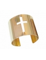 HOA Cross Cutout Cuff Bracelet Runway Accessories | The Latest Women Fashion Online Accessories & Jewelry | JESSICABUURMAN [1741] - $29.00 : JESSICABUURMAN.COM