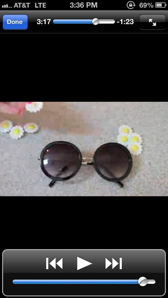 sunglasses black sunglasses black sunnies sunnies circle sunglasses vintage hipster vintage sunnies shades hippie highwaisted shorts pretty big sunglasses