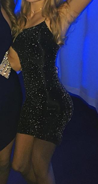 dress bodycon dress black dress black spakly mesh