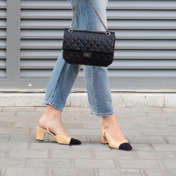 bag reissue bag black bag chanel chanel bag Chanel Reissue chanel reissue  bag reissue jeans blue