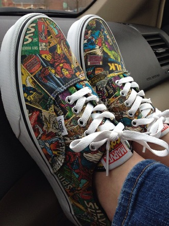 shoes marvel vans marvel vans