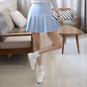 skirt,high waisted,kawaii,grunge,pastel,pastel goth,tennis skirt,girly,casual,hipster,tumblr outfit,kozy