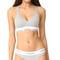 Calvin klein underwear modern cotton lightly lined bralette - grey heather