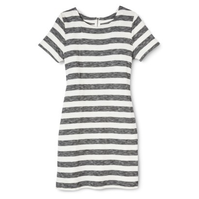 Merona® Women's Knit T-Shirt Dress - Stripes : Target
