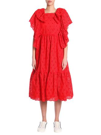 dress long dress long lace