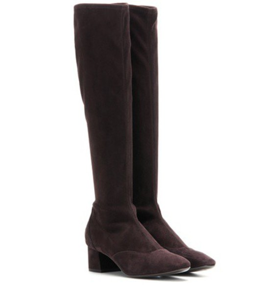 boots suede boots suede brown shoes