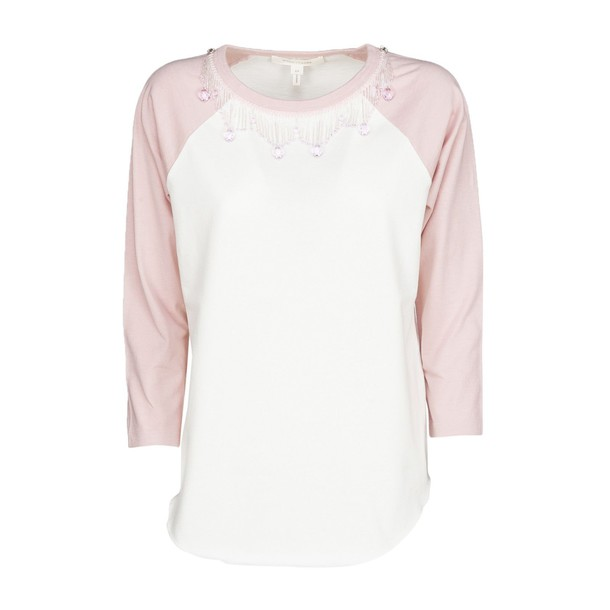 Marc Jacobs t-shirt shirt t-shirt embroidered rose top
