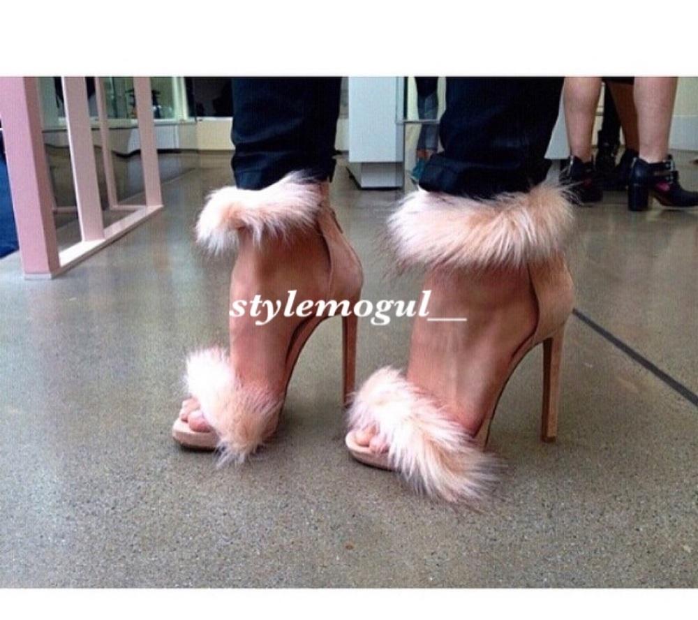 Daisy Fur Heels
