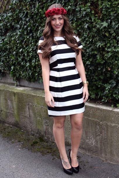 Black And White hm Dress