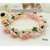 Hot New flower wreath headbands Beige Pink Artificial flowers Wreath Garland Wedding Bride Girl Hair Accessory Free shipping T52-in Apparel & Accessories on Aliexpress.com