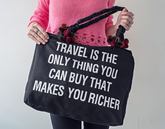 bag quote on it black and white fashion style purse cool freevibrationz free vibrationz