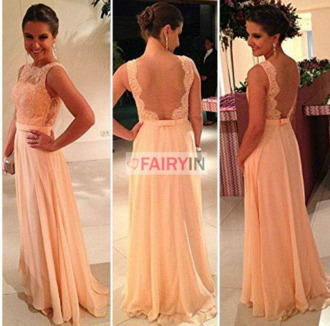dress prom dress openback long prom dress backless prom dress pink dress lacedress
