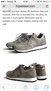 shoes,silver,grey,new balance,574,sonic