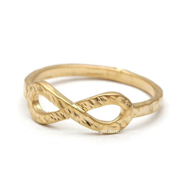 infinity ring gold. jewels jewelry ring infinity infinite eternity gold