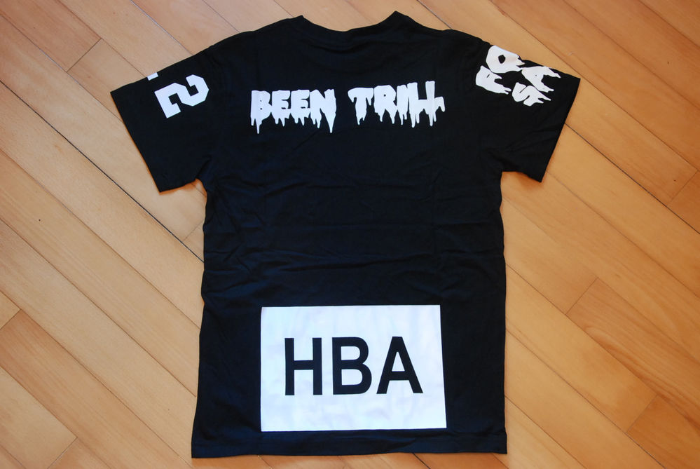 100 Authentic HBA Hood by Air x BEEN Trill Kanye West Pyrex Yeezy Black Tee L | eBay