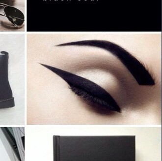 make-up eyeliner brows