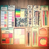 scarf,home accessory,notebook,pencils,desk,school supplies,office supplies,stationary