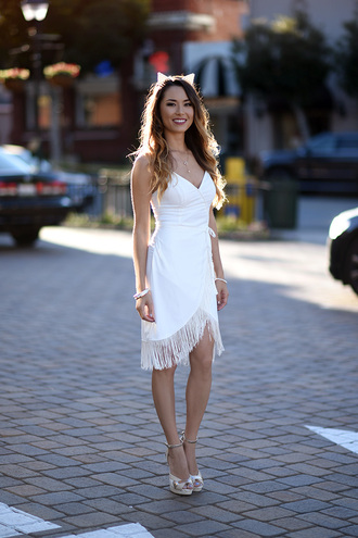 hapa time blogger cat ears white dress