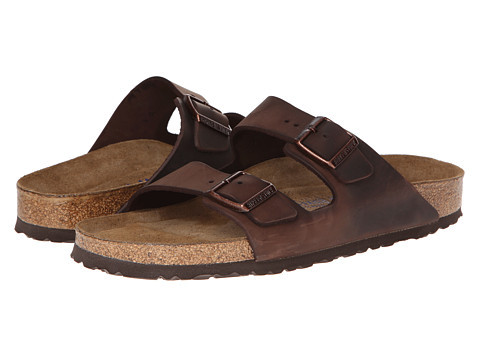 Birkenstock Arizona Soft Footbed - Leather (Unisex) Habana - Zappos.com Free Shipping BOTH Ways