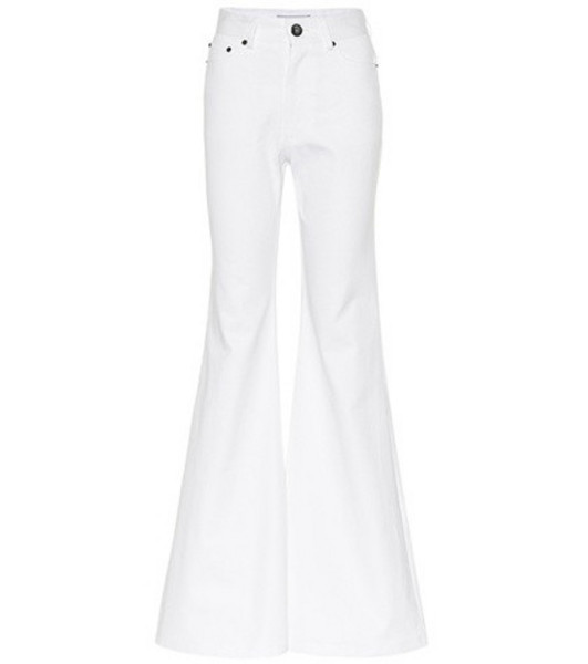 Matthew Adams Dolan Flared jeans in white