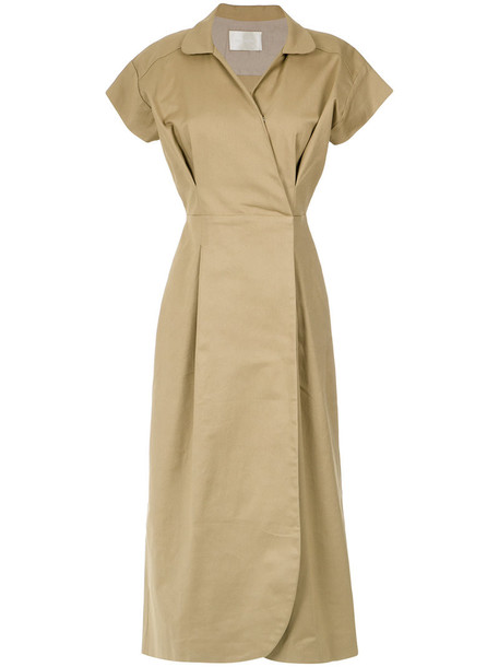 Lilly Sarti dress style women spandex nude cotton